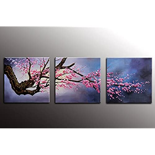 Canvas Wall Art Flower: Amazon.com