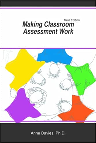 Making Classroom Assessment Work Anne Davies Phd 9781935543886 Amazon Com Books It helps to develop student's skills and capabilities along with. making classroom assessment work anne