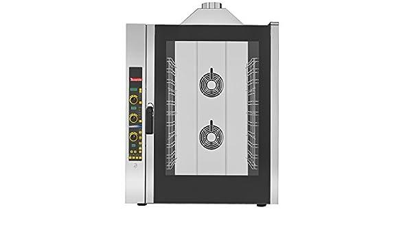 Horno gas de conveccìon profesional con panel electrónico digital y con vapor 11 bandejas GN 1/1 TECNOFOOD TF11GPE11: Amazon.es: Grandes electrodomésticos