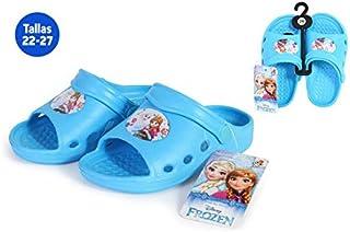Chaussures été fille la reine des neiges Bleu–Taille E2–Taille E2 IDEALCASA KIDS