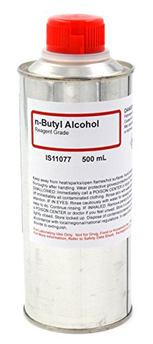 N-Butyl Alcohol Reagent, 500mL - The Curated Chemical - Butyl Alcohol