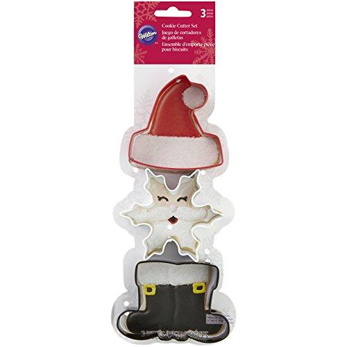 (Wilton 3-Piece Christmas Cookie Cutter Set)