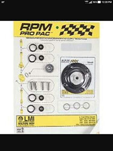 (LMI RPM 362/368 Service Kit for Solenoid Diaphragm Metering Pumps, 4.0 GPH)