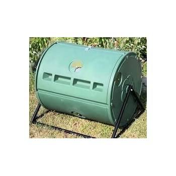Patio Back Yard Barrel Tumbler Dual Composter For Home Gardening Composting