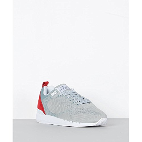 red Easy Uomo Run Grigio Grey Yawn Sneaker Djinns OCptq1w0p