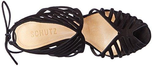 SCHUTZ S0-13871075n - Tira de Tobillo Mujer Schwarz (Black)