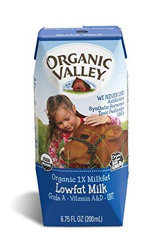 Organic Valley Milk Plain 6 75 product image