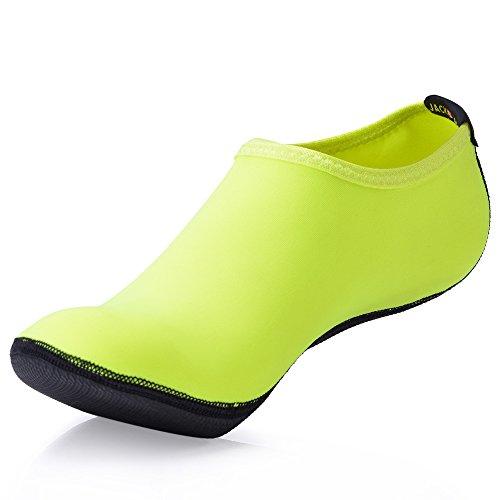 for Green Women's Aqua Surf Yoga Barefoot JACKSHIBO Men's Water Shoes Skin Flexible Beach Socks Swimming z6q5Zw