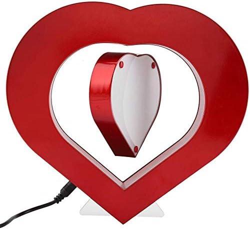 ejemplo de lampara con forma de corazon