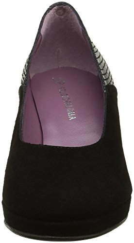 WoMen Shangay Black Ante Noir Court Studio Paloma 19939 Shoes Black S0qcEP8