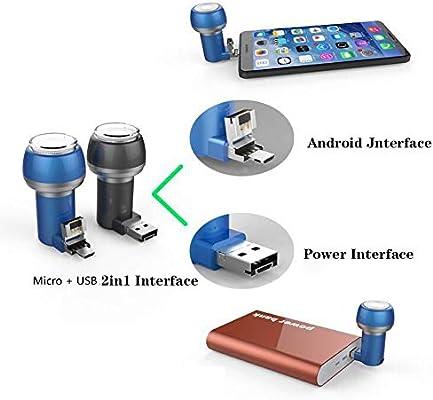 ZYJFP Mini Eléctrica Afeitar Máquina,Portátil USB Impermeable ...