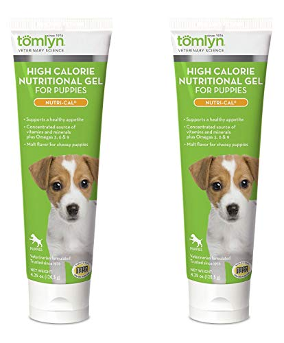Tomlyn Nutri Cal Puppy - Tomlyn High Calorie Nutritional Supplement (Nutri-Cal for Puppies, 4.25 ounce (2 Pack)