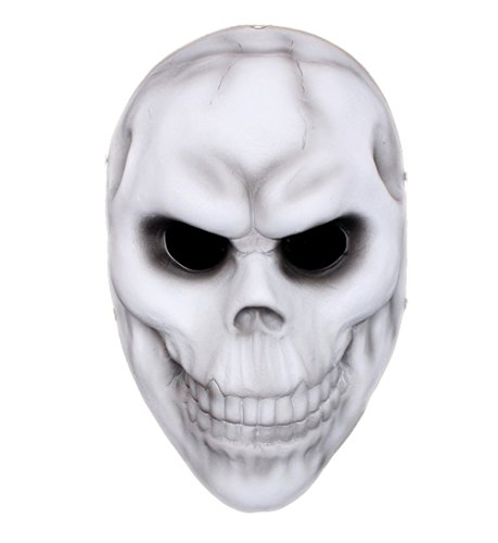 San Tokra Cosplay Resin Chain Mask for Payday 2 Skull Mask Replica (Original Bane Costume)