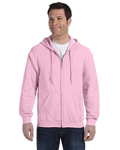 Pink Zip Hoodie Sweatshirt - 8