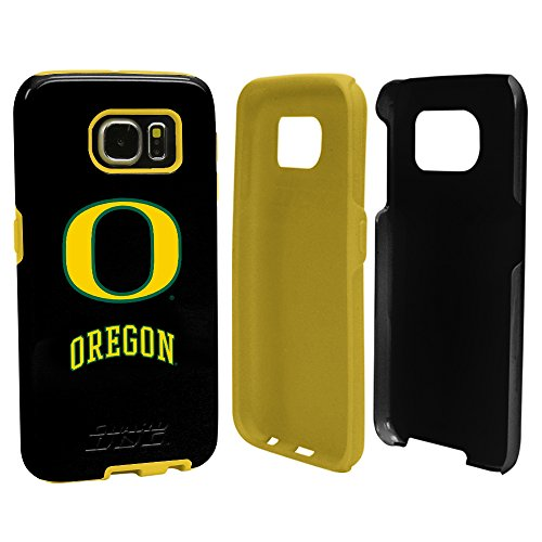 Ducks Protector Case (Oregon Ducks Guard Dog Hybrid Case for Samsung Galaxy S7 with Guard Glass Screen Protector)