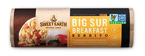 Sweet Earth Burrito, Big Sur Breakfast, 7 Ounce (Pack of 12)
