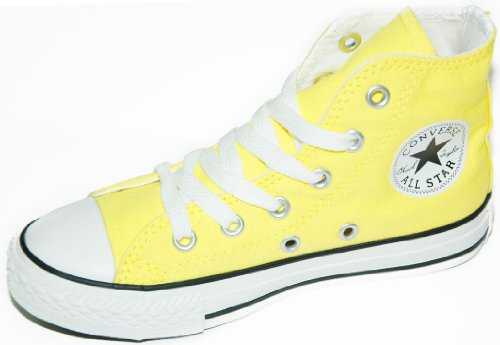 Converse Scarpe Sneaker Unisex Bambini Ct Spec Hi Yth 314048-GIALLO