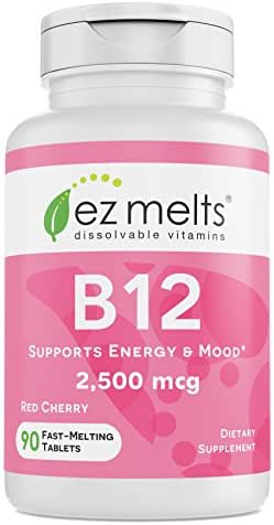 Vitamins & Supplements: EZ Melts B12