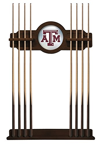 Holland Bar Stool Co. Texas A&M Cue Rack in Navajo Finish (Pool Texas A&m Table)