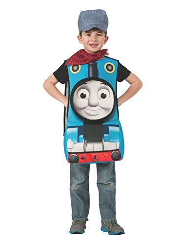 (Rubies Thomas and Friends Deluxe 3D Thomas The Tank Engine Costume, Child)