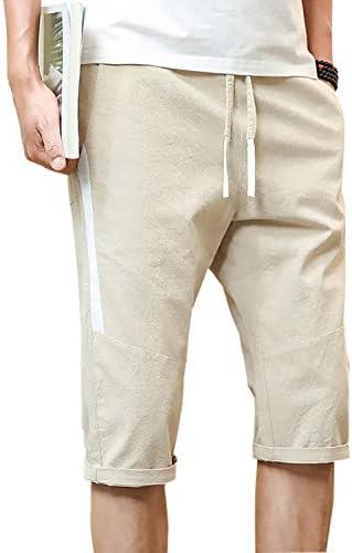 (シンキフォン) メンズ ボーイズ 短パン ミリタリー 5分丈 通気性 ハーフ パンツ 夏物 ズボン 袴パンツ ワイドパンツ ファッション 無地 純綿 吸汗速乾 ショートパンツ カジュアル 夏 調整紐