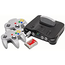 Nintendo 64 Starter Pack with Memory Card and Extra Controller