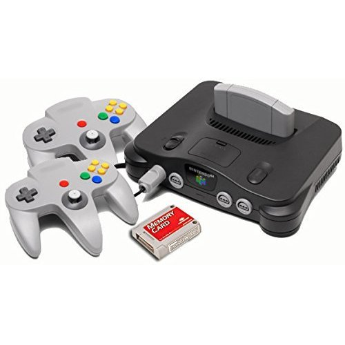 Nintendo 64 Starter Pack with Memory Card and Extra Controller Extra Memory