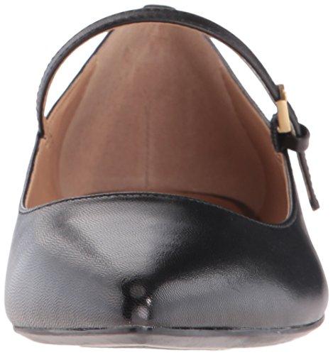 Calvin Klein Women's Gracy Mary Jane Flat Black Leather u8NwWsC8