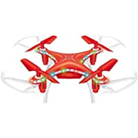 Nesee Christmas Gift X13D Drone 2.4GHz 4CH Led Mini Remote RC Quadcopter 3D Rollover (Red)