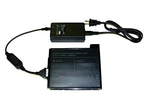 FactoryDepot External laptop battery charger for Toshiba PA3291U-1BRS/ PA3291U/ (Pa3291u 1brs Laptop)
