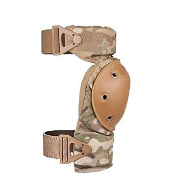 ALTA 52913.16 AltaCONTOUR Knee Protector Pad, MultiCAM Cordura Nylon Fabric, AltaLOK Fastening, Flexible Cap, Round, Coyote: Industrial & Scientific