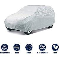 Kingsway kkmcbcsm00002 Car Body Cover for Maruti Suzuki Alto (Silver)