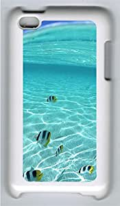 iPod 4Case Tropical Fish PC Custom iPod 4Case Cover White