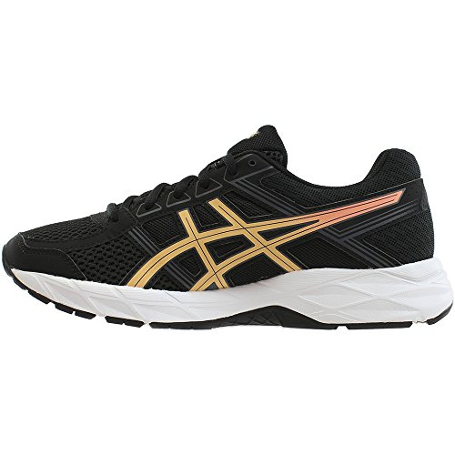 Women's Running Gel Black Ice Contend White Shoe Asics 4 Apricot Carbon 1TdwOq
