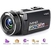 Camcorder Digital Camera Full HD 1080p 18X Digital Zoom...