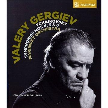 Mariinsky Theatre Orchestra - Symphonies 4 & 5 & 6 (Blu-ray)