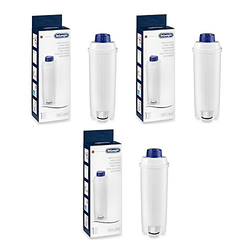 DeLonghi 5513292811 Water Filter - (3 Pack) by DeLonghi