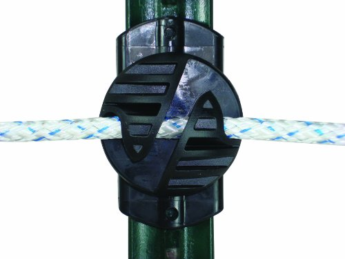 Field Guardian 100-Pack 3-in-1 Multi-Purpose Insulator, (Square Insulator)