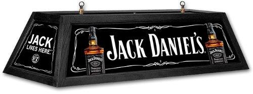 JACK DANIEL'S Pool Table Light - Black