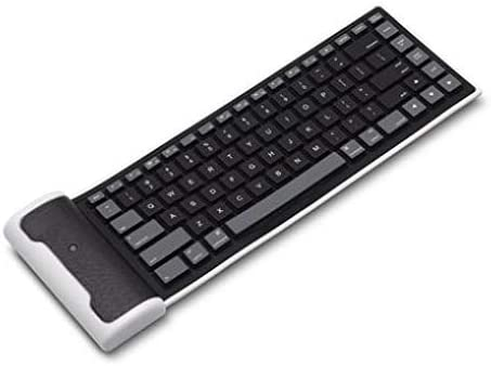 Wireless Keyboard Folding Rechargeable Portable Compact Compatible with LG Tribute Royal