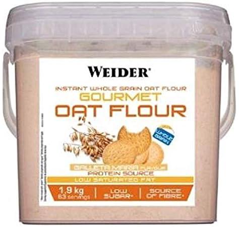 Weider Gourmet Oat Flour - 1,9 kg Brownie: Amazon.es: Alimentación y bebidas