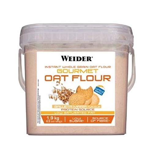 Weider Gourmet Oat Flour - 1,9 kg Strawberry Cake: Amazon.es ...