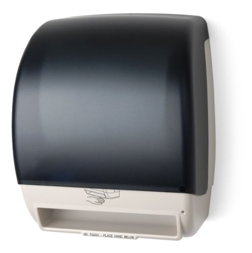 Palmer Fixture Electra Hands-Free Electronic Towel Dispensers - Black/White - Black/White