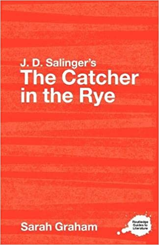 Controversial Essay Topics For Research Paper Jd Salingers The Catcher In The Rye A Routledge Study Guide Routledge  Guides To Literature Sarah Graham  Amazoncom Books Healthcare Essay Topics also English Essay Writing Help Jd Salingers The Catcher In The Rye A Routledge Study Guide  Topics For Essays In English