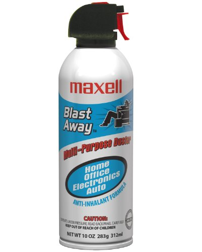 Maxell 190025 Canned Air 10 Oz #152 Single