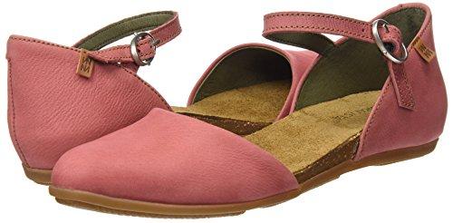 El Alla Sandali Donna sandalo Cinturino Naturalista Con Rosa Nd54 Caviglia rXvaXqT