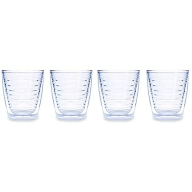 Tervis 12 ounce Clear Tumbler Set of Four