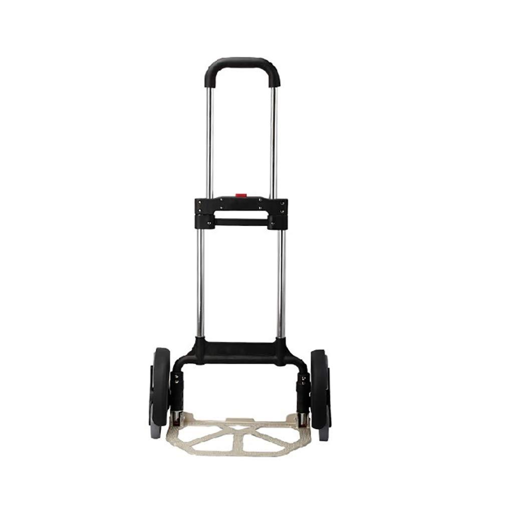NUBAOgy 折り畳みと登る階段の車は、車のトランクは便利で便利です。 商品を引っ張ってカートを引っ張って高級配送トロリー6ラウンド B07GXD5L99