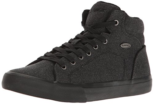 Lugz Men's King Fashion Sneaker, Black, 8.5 M US
