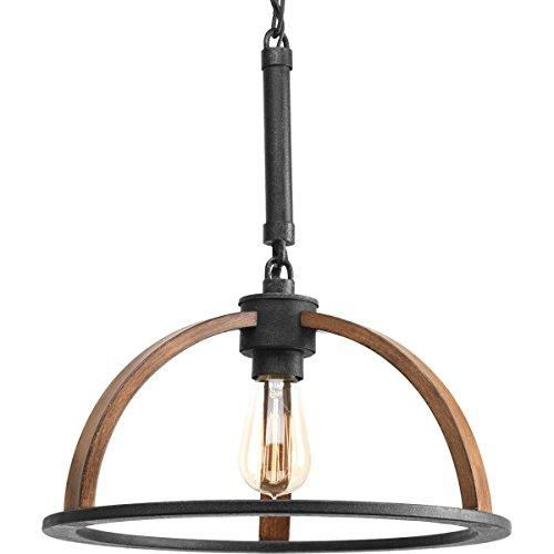 (Progress Lighting P5152-71 1-60W Medium Base Pendant, Gilded Iron)